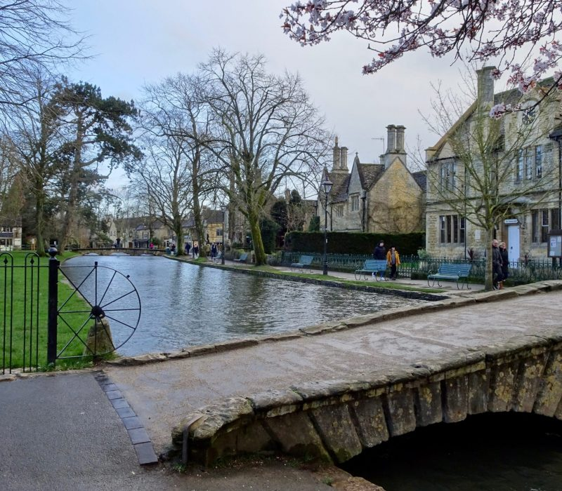 Rivière à Bourton on the Water