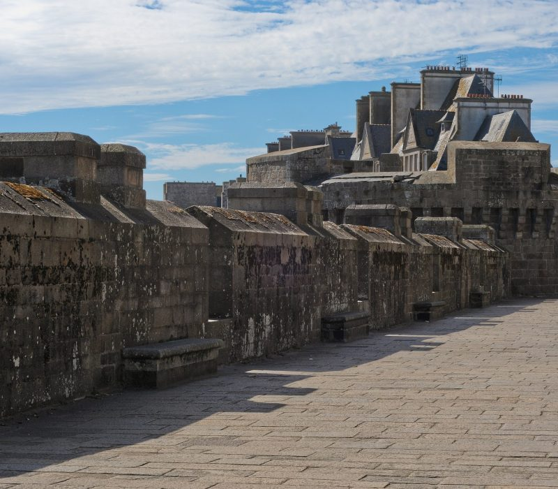 Balade sur les ramparts à Saint Malo