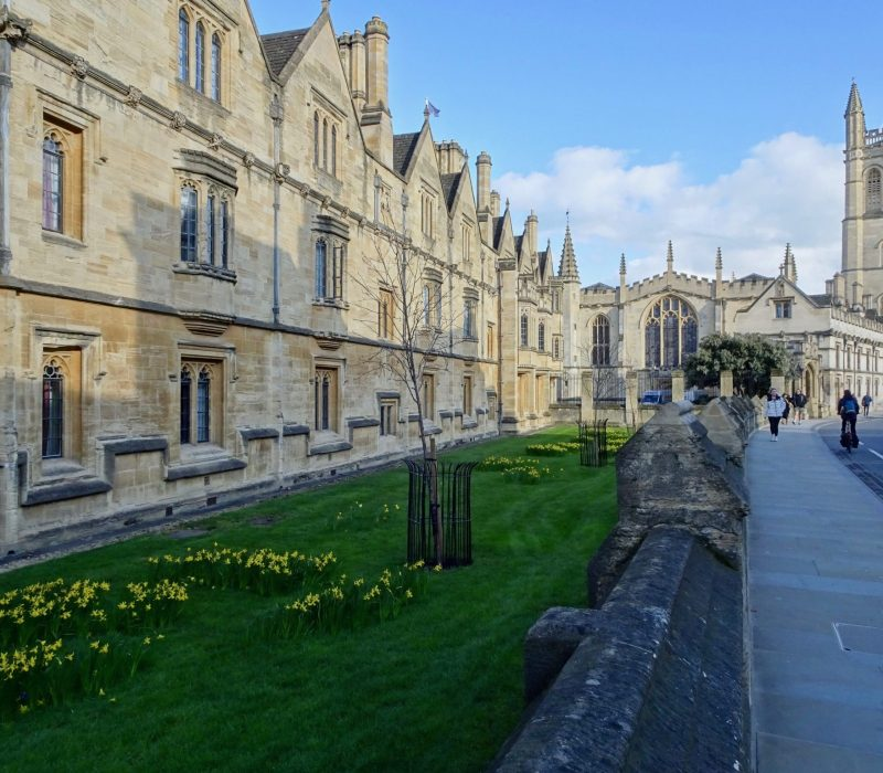 College à Oxford