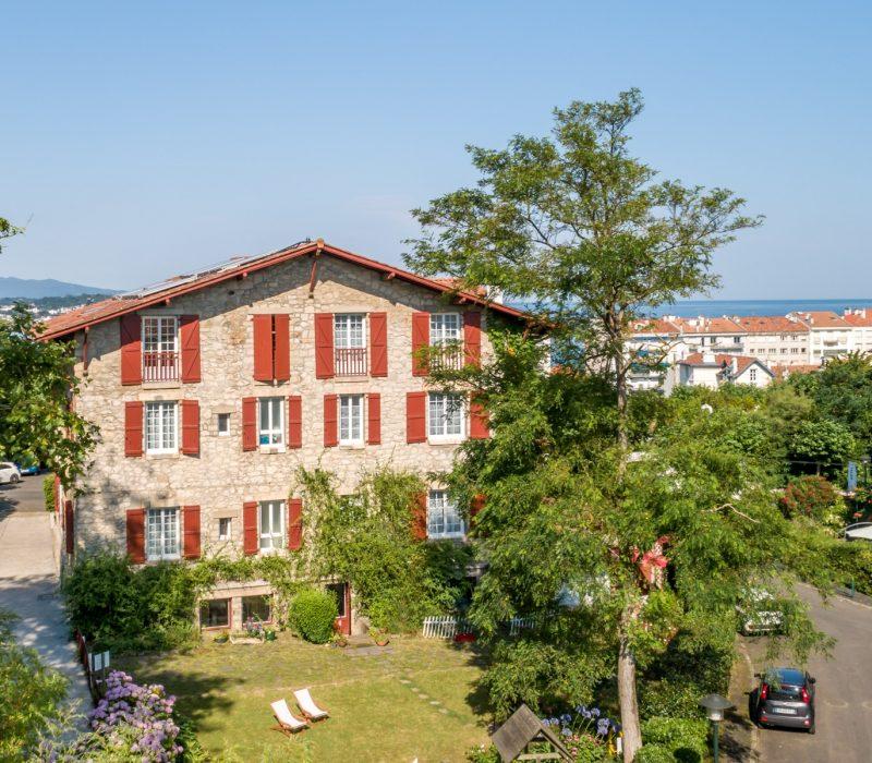 Maison pays basque à Saint Jean de Luz