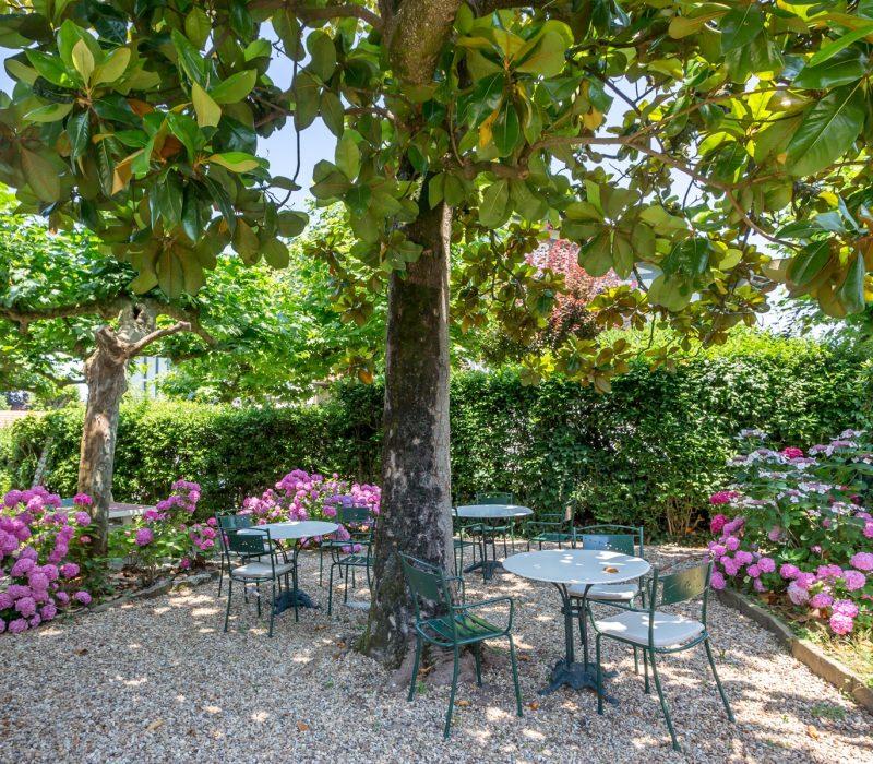 Jardin dans un hôtel à Saint Jean de Luz